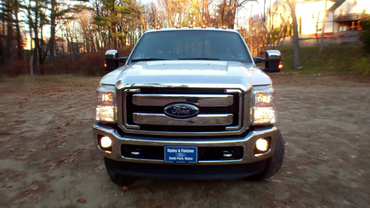 best price 2013 ford f350 4x4 super cab for sale near portland me youtube. Black Bedroom Furniture Sets. Home Design Ideas