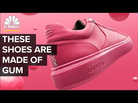 These Shoes Are Made Out Of Gum | CNBC