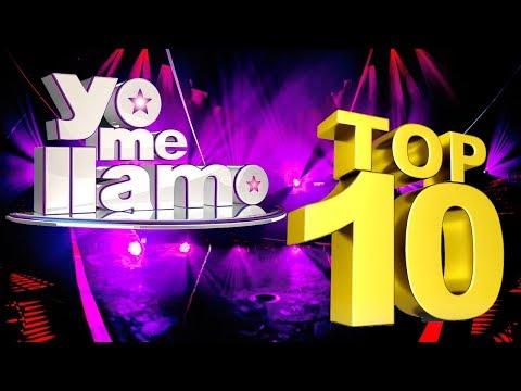 TOP 10 Audiciones Yo Me Llamo 2018