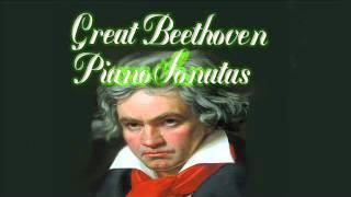 Great Beethoven Piano Sonatas (Piano: Giovanni Umberto Battel - live recording)