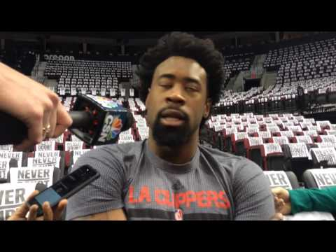 Clippers DeAndre Jordan remains confident ahead of tonight's Game 6