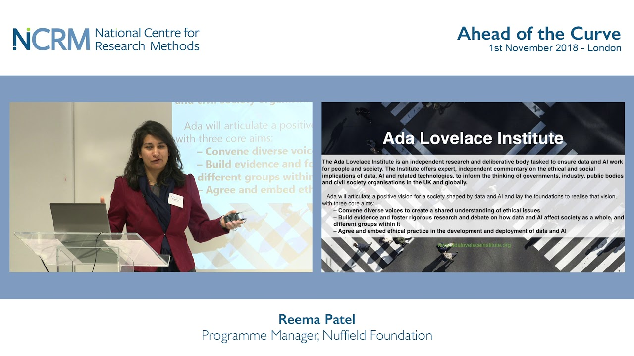 The Ada Lovelace Institute: Ensuring data and AI work for people and society