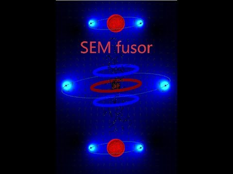 SEM fusor with reversed polarities and magnetic mirror