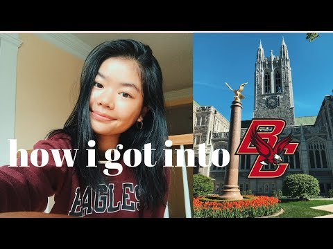 How I Got Into Boston College|gpa, Sat Score, Extracurriculars, Etc. (+ Some Advice)
