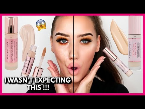 MAKEUP REVOLUTION CONCEAL & DEFINE vs CONCEAL & HYDRATE!   MAKEMEUPMISSA thumbnail