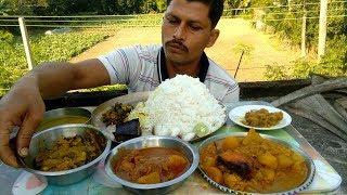 King of Rice Eating Chicken | Radish Dal | Cauliflower Fish Curry | Ceylon Olive Chutney