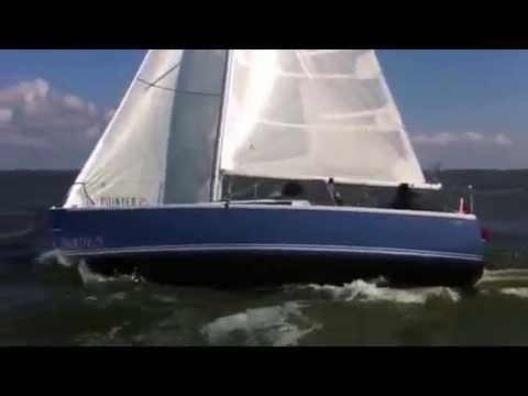 Pointer maidentrip op het IJsselmeer