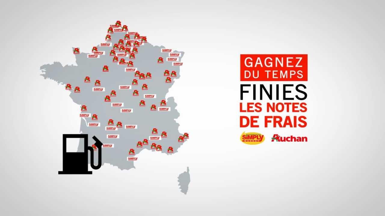 carte simply market auchan La Carte Pro par Auchan carburant pour les Professionnels.   YouTube