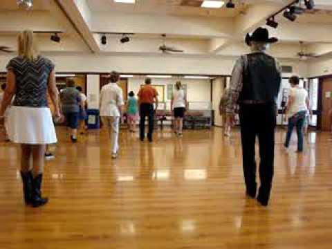 Honky Tonk Stomp Line Dance With Music