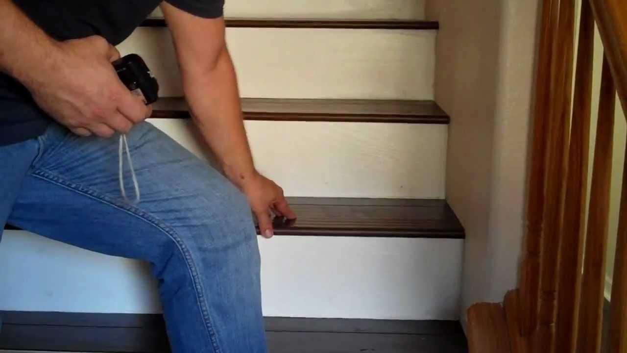 Floor 1 Of The Brandon Floor Installation Of Eucalyptus Engineered Wood  Flooring Tour