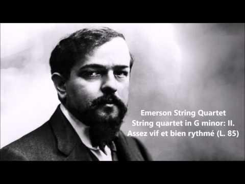 Emerson String Quartet: The complete String quartet in G minor (Debussy)