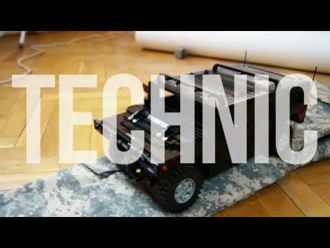 Sariel's Custom LEGO Technic Creations promotional video