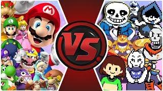 CHARA vs THE WORLD! (Chara vs Bill Cipher, Golden Freddy