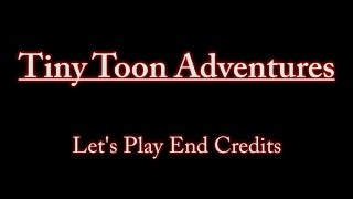 Credits for the Tiny Toon Adventures LP
