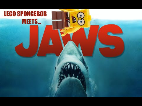 Lego Spongebob Meets JAWS [Part 1]