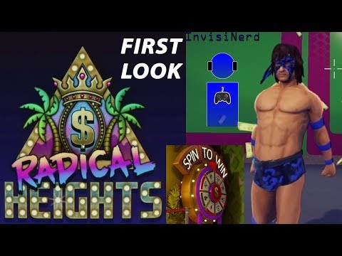 FIRST LOOK - Radical Heights Free To Play Battle Royale