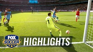 Nacho Monreal scores equalizer for Arsenal | 2016-17 FA Cup Highlights