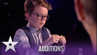 Aidan McCann: This Kid Magician STUNS The Judges.. How Did He Do That?! | Britain's Got Talent 2020