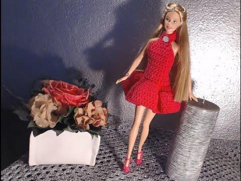 Vestito Barbie 1 Tutorial Versione 1 Ballerina Uncinetto Youtube