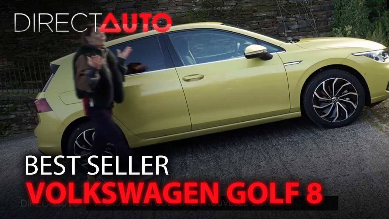Best-seller : Volkswagen Golf 8