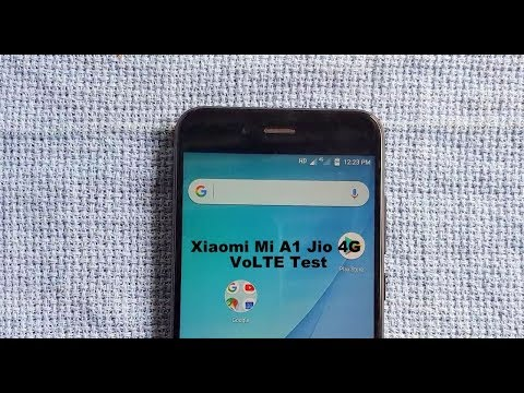 Xiaomi Mi A1 Jio 4G VoLTE Test
