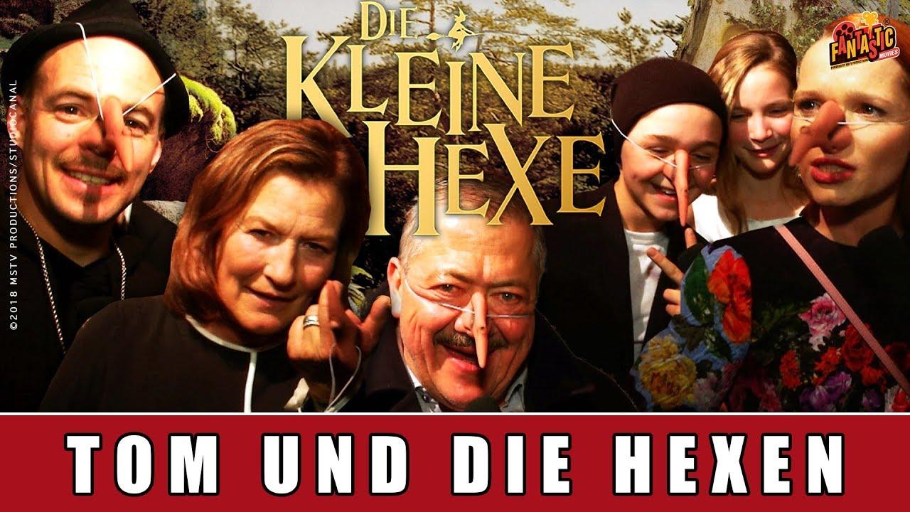 Die kleine Hexe - Tom verteilt Hexennasen an die Darsteller | Karoline Herfurth | Otfried Preußler