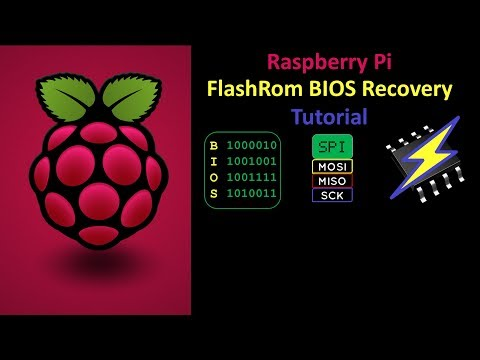 Recover Bricked BIOS Using FlashRom On A Raspberry Pi