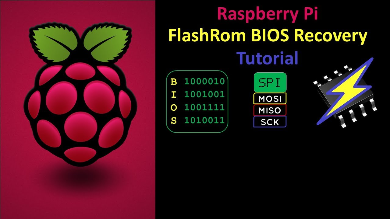 Recover Bricked BIOS using FlashRom on a Raspberry Pi