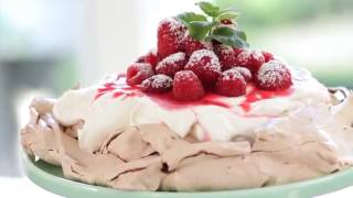 Beths Chocolate Raspberry Pavlova Recipe  ENTERTAINING WITH BETH
