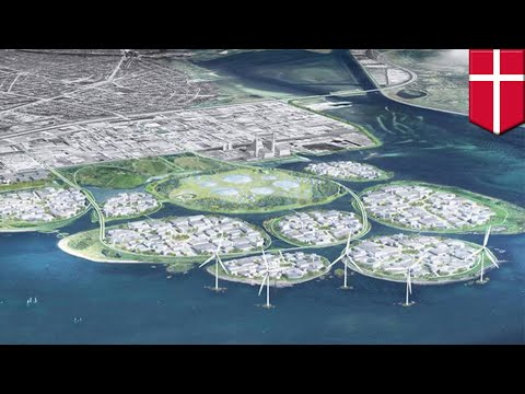 Denmark's 'Silicon Valley' to rise on 9 artificial islands off Copenhagen - TomoNews