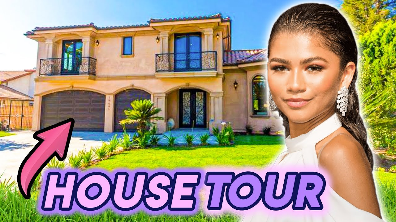 Zendaya | House Tour 2020 | Her $1.4 Million Northridge Mansion