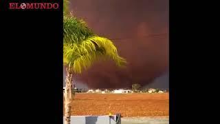 Tornado causa daños en Chipre