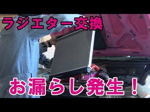 シムニー日記 #31 お漏らし事件! ラジエター交換で大騒ぎ(笑)