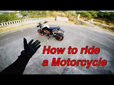 How to ride a motorcycle   Beginners Guide