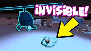 INVISIBLE SKIN IN ROBLOX JAILBREAK!!! *HIDE AND SEEK*