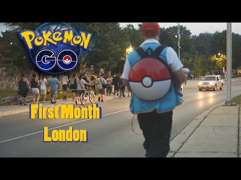 Pokemon Go   FML (First Month in London)