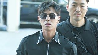 180816 동방신기(東方神起 | TVXQ!) 유노윤호 focus - 인천공항 출국