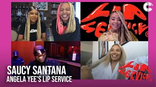 Angela Yee's Lip Service Feat. Saucy Santana