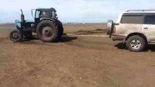 Ленд Крузер 80 и Т 40 трактор