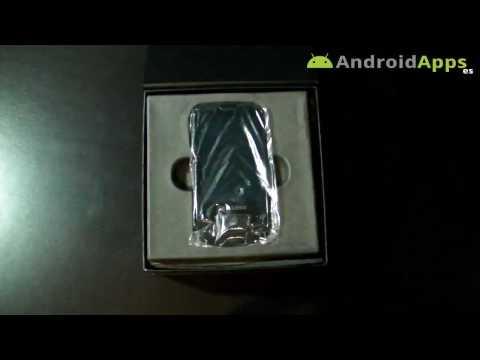 Samsung i7500 Galaxy Unboxing