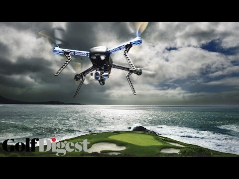 Drones Over Pebble Beach-Golf Digest