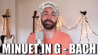 Minuet in G - Bach - Classical music Ukulele Tutorial
