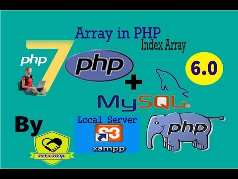 PHP-MySQLi Series 6.0 || Index Array