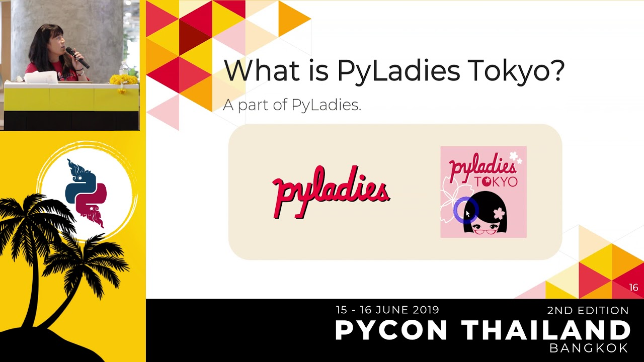 Image from Pyladies and Importance of community participation - Lina Katayose(selina)