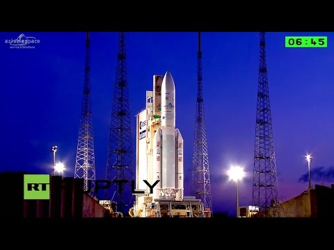 LIVE: Ariane rocket launches Badr 7 and GSAT 15 satellites