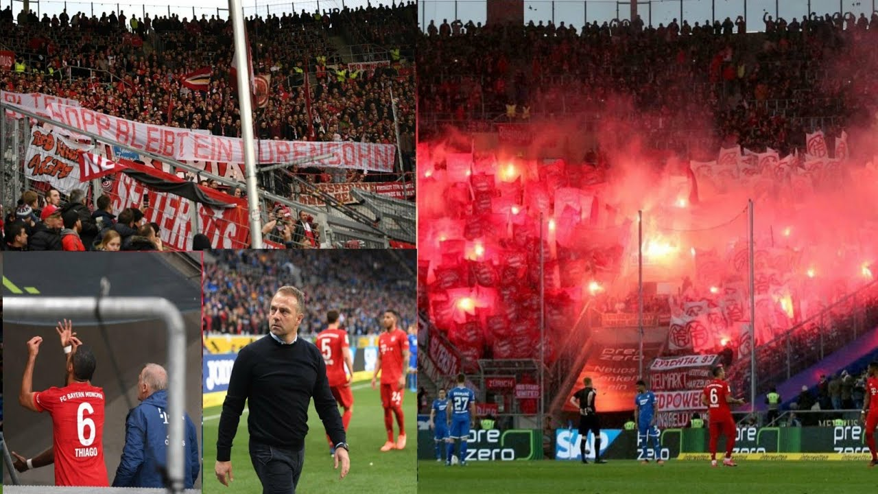 What the hell happened in the Bayern-Hoffenheim clash causes the bizzare suspension? ??