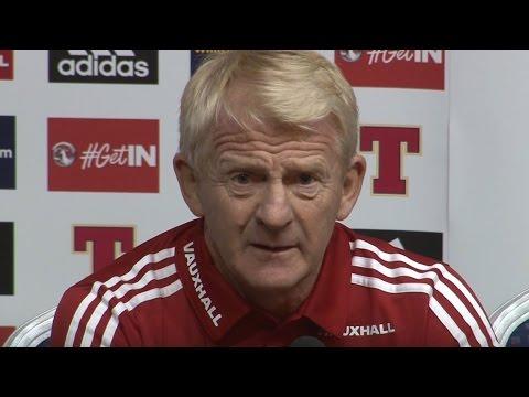 Scotland Manager Gordon Strachan Shuts Down BBC Reporter