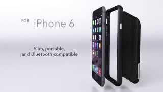 Zagg iPhone 9 Speaker Case: big sound and a bumper case for