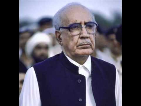 Ghulam Ishaq Khan address's to the nation on dissolving the Nawaz Sharif's govt(18-4-1993)Part 1.wmv