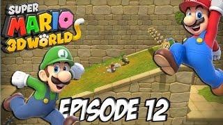 Super Mario 3D World: Let's Fun | Etoile,Couronne, Etoile | Episode 12 Thumbnail